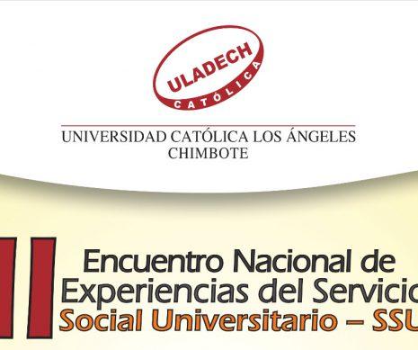 II ENCUENTRO NACIONAL DE EXPERIENCIAS DEL SERVICIO SOCIAL UNIVERSITARIO