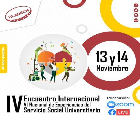 IV Encuentro Internacional – Servicio Social Universitario